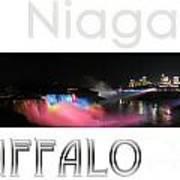 Niagara Falls Postcard Poster