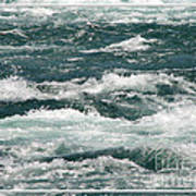Niagara River Rapids 2 Poster
