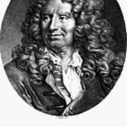 Nicolas Boileau (1636-1711). French Critic And Poet. Lithograph, French, 19th Century Poster