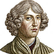 Nicolaus Copernicus, Polish Astronomer Poster by Science Source