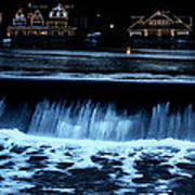 Nighttime At Boathouse Row Poster
