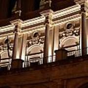 Nighttime Palace Poster