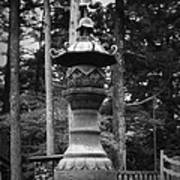 Nikko Sculpture Poster