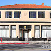 Niles California Banquet Hall . 7d12736 Poster by Wingsdomain Art and Photography