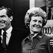 Nixon Presidency. Us President-elect Poster by Everett