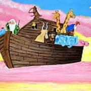 Noah's Ark Poster by Christie Minalga