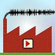 Noise Pollution, Conceptual Image Poster
