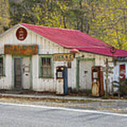 North Carolina Country Store And Gas Station Poster