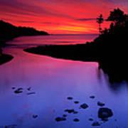 Nova Scotia Sunrise Poster