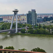 Novy Most Bridge - Bratislava Poster