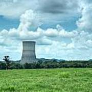 Nuclear Cooling Tower Poster