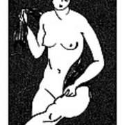 Nude Sketch 12 Poster