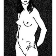 Nude Sketch 17 Poster