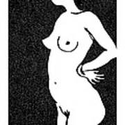 Nude Sketch 24 Poster