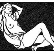 Nude Sketch 58 Poster