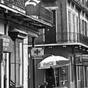 Ny Yankees On Royal Street Poster by Leslie Leda
