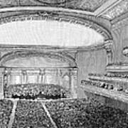 Nyc: Carnegie Hall, 1891 Poster