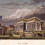 Nyc: The Tombs, 1850 Poster