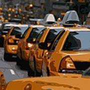 Nyc Traffic Color 16 Poster