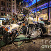 Nypd Bikes Poster by Yhun Suarez