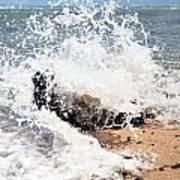 Oahu North Shore Splash Poster