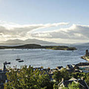 Oban Bay View Poster