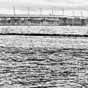 Ocean City Bridge Poster