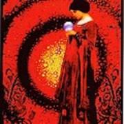 October Moon Poster by Janiece Senn
