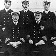 Officers Of The Titanic, 1912 Poster