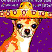 Party Chihuahua Poster