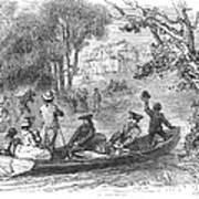 Ohio River: Emigrants Poster