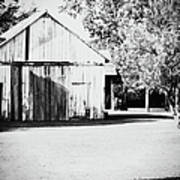 Ohio Shed Bw Poster
