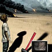 Oil Wars Poster
