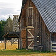 Old Barn Doors Poster