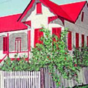 Old Belizean Home Poster