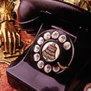 Old Bell Telephone Poster