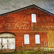 Old Coca Cola Building Poster
