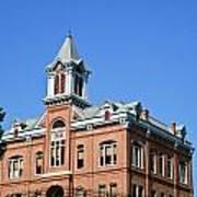 Old Courthouse Powhatan Arkansas 1 Poster