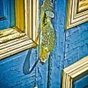 Old Door New Paint Poster