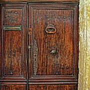Old Door Study Provence France Poster