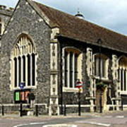 Old English Church Uxbridge Uk Poster