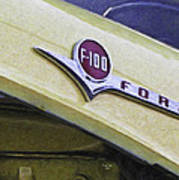 Old Ford Pick-up Poster