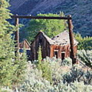 Old Homestead On Trout Creek Poster