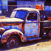 Old Junk Truck Poster