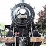 Old Locomotive Poster