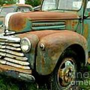 Old Mercury Truck Poster