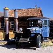 Old Mining Days - Bodie, Ca Poster