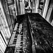 Old Piano Organ Poster by John Farnan
