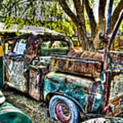 Old Pickup Poster