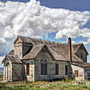 Old Schoolhouse - Ovid - Idaho Poster